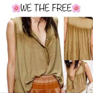 ❇️ FREE PEOPLE blouse❇️